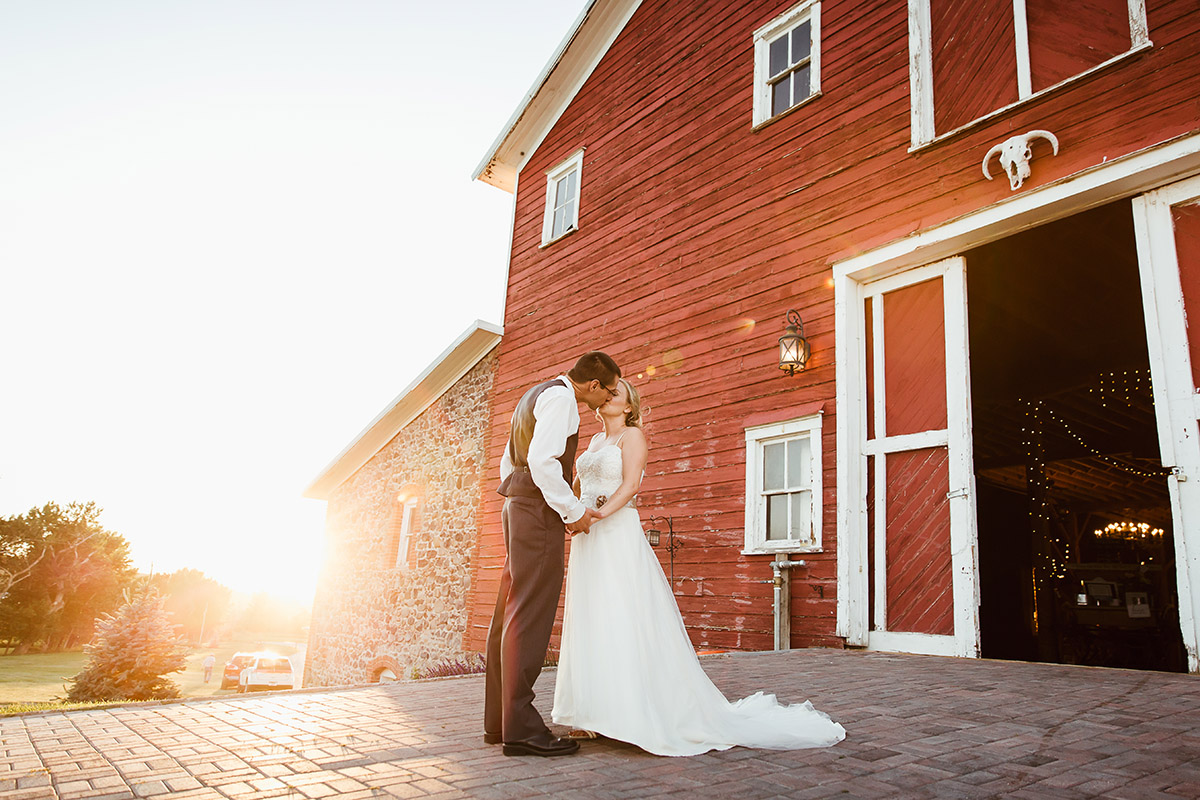 Kleffner Ranch Wedding Sunset