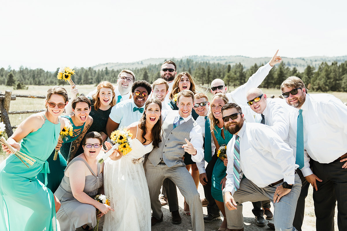 Montana Wedding Party