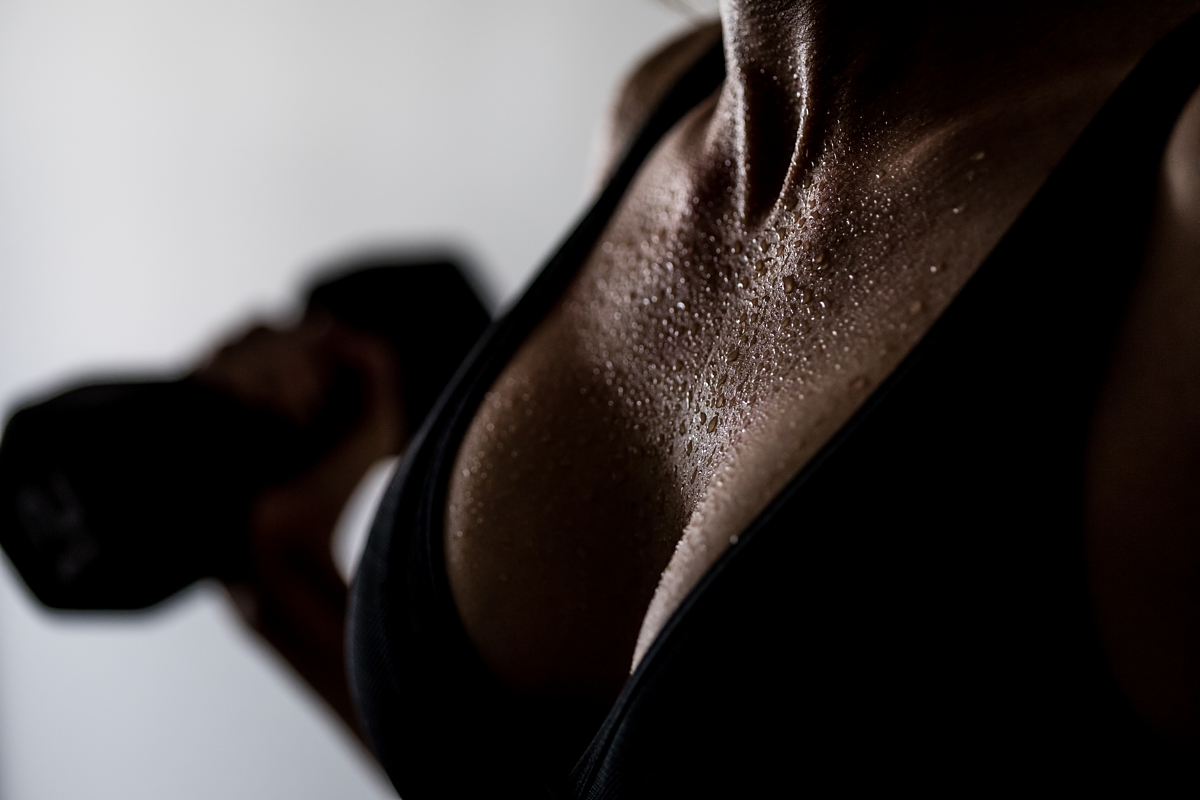 Fitness Boudoir Session