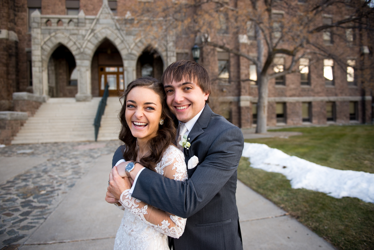 Carroll College Wedding