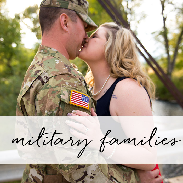 Military Families Sessions