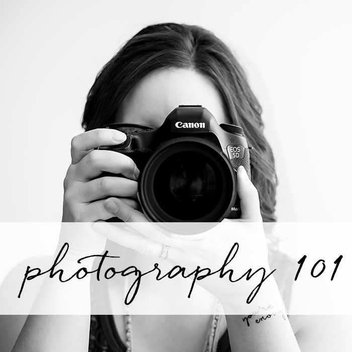 Class: Photography 101