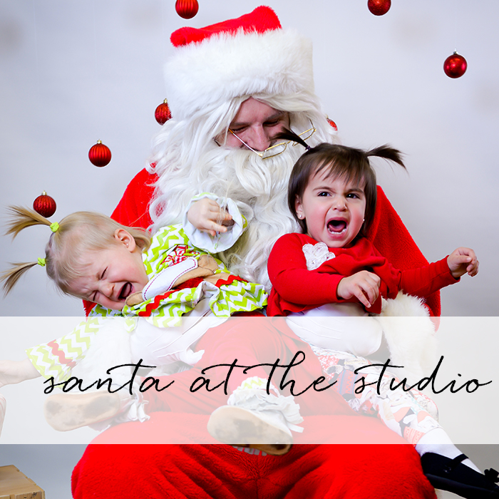 Santa at the Studio