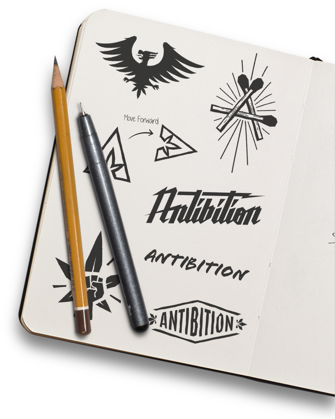 Brand Discovery and Logo Designs for Antibition