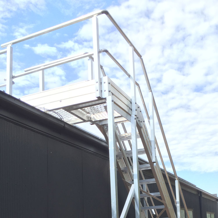 Guardrail in Marine Environment