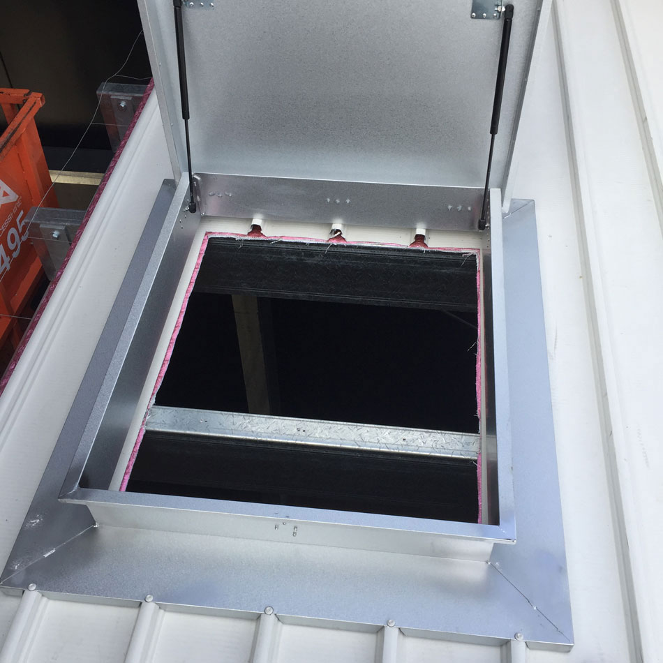 Roof Access Hatches | Design, Installation, Certification.