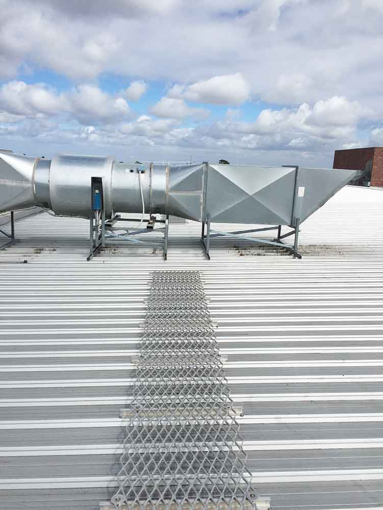 Rooftop Walkway Systems