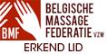 Lid van de Belgische Massage Federatie