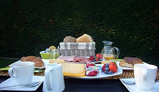 In sommige van onze arrangement kunt u kiezen voor dit lekkere ontbijt.