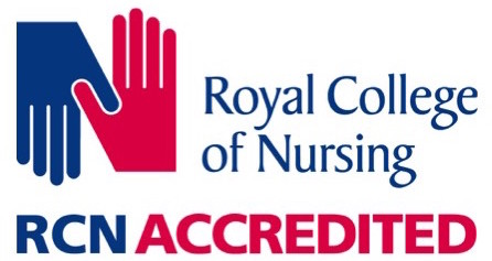 Royal college of nursing - RCN Accredited logo