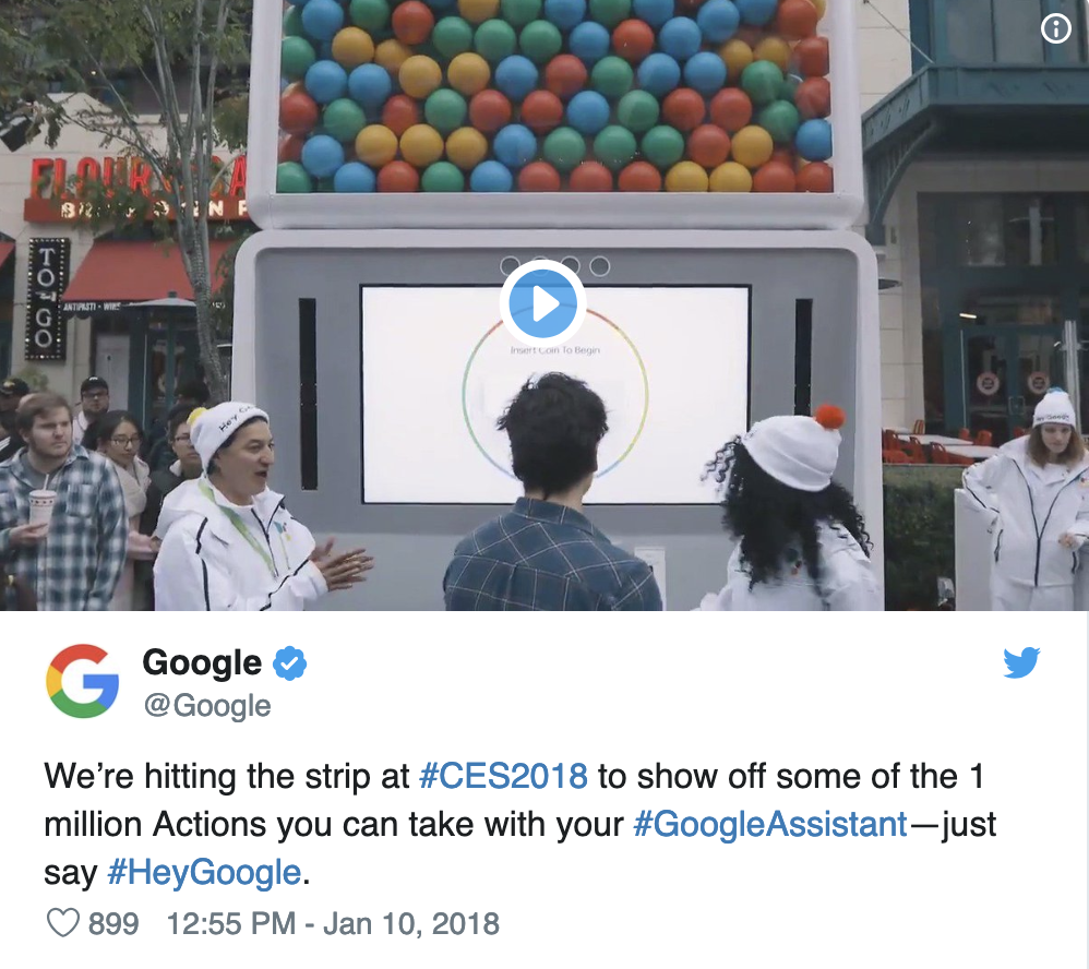 Google at CES 2018