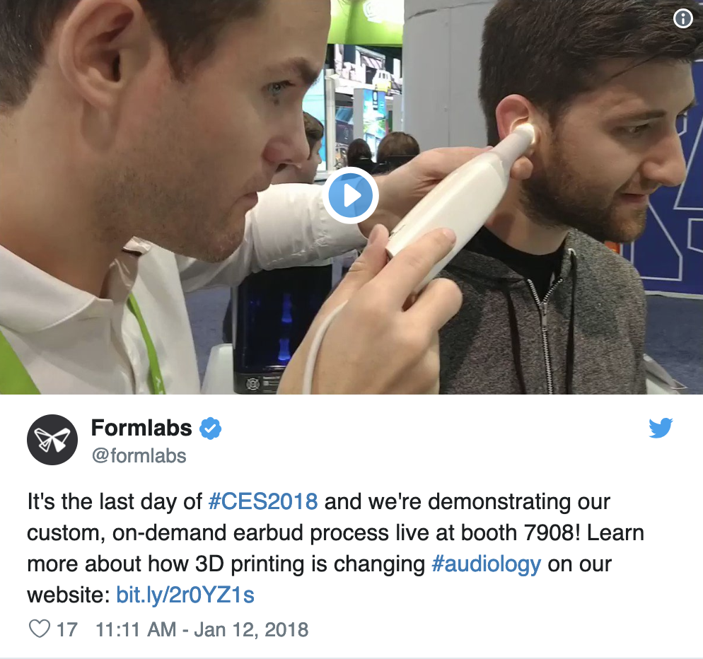 Formlabs at CES 2018