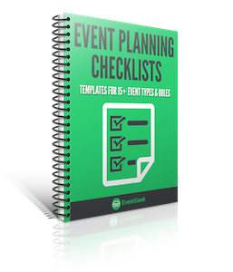 eventgeek trade show planning checklist