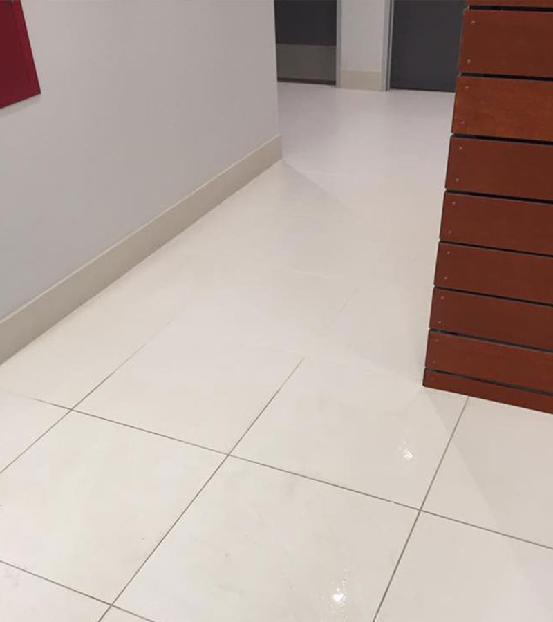 Tiles cleaned by Steam Commander in Houston, TX