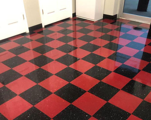 Tile and grout after being cleaned in Brownwood, TX