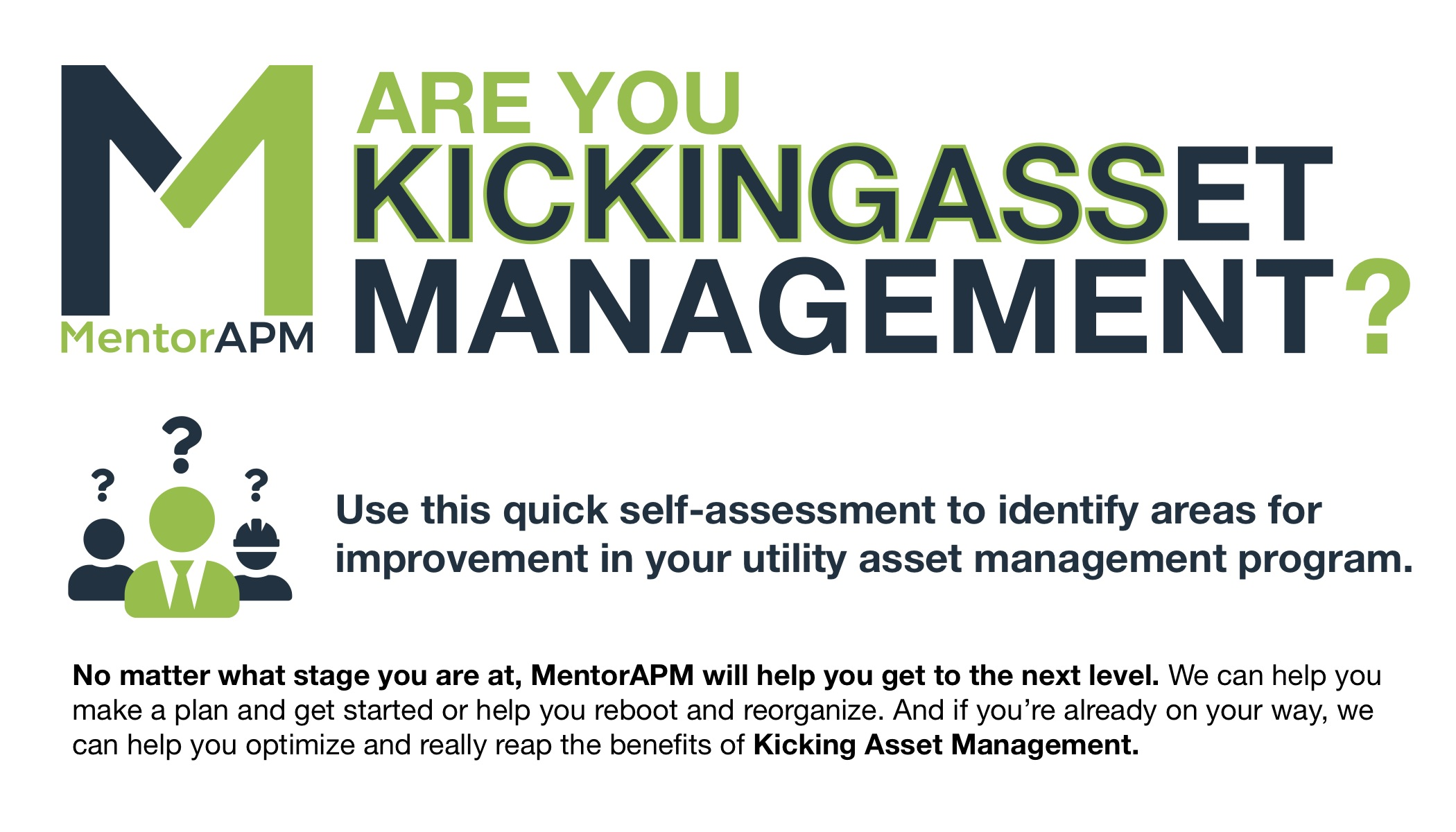 Are You Kicking Asset Management? Quick self-assessment tool