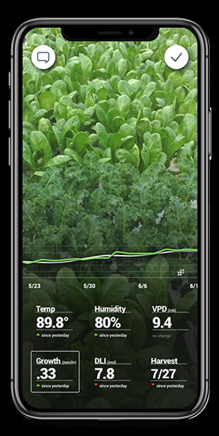 Controlando el invernadero desde el móvil