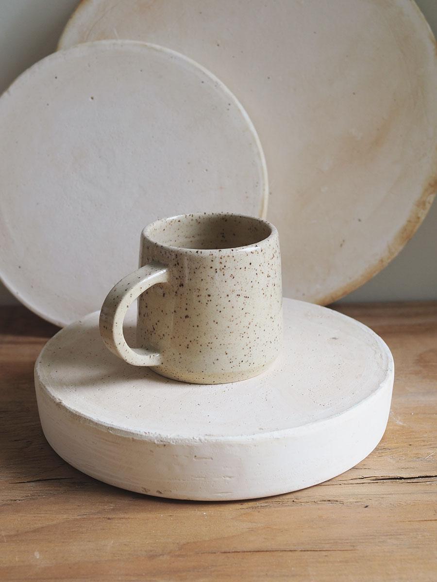 *Seconds* Halfmoon Mug in Cinnamon