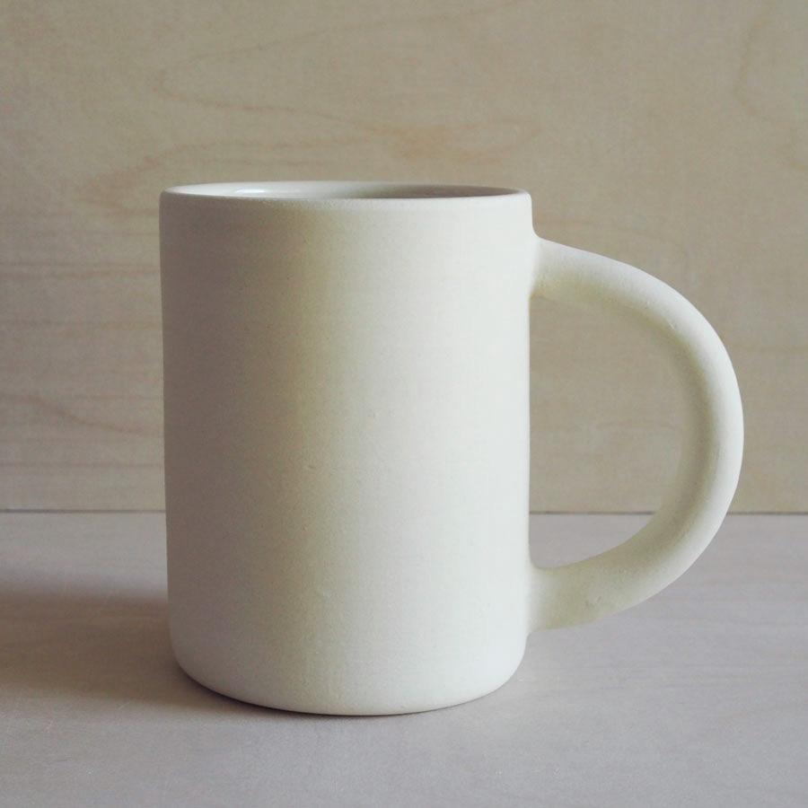 Big Mug in Raw White