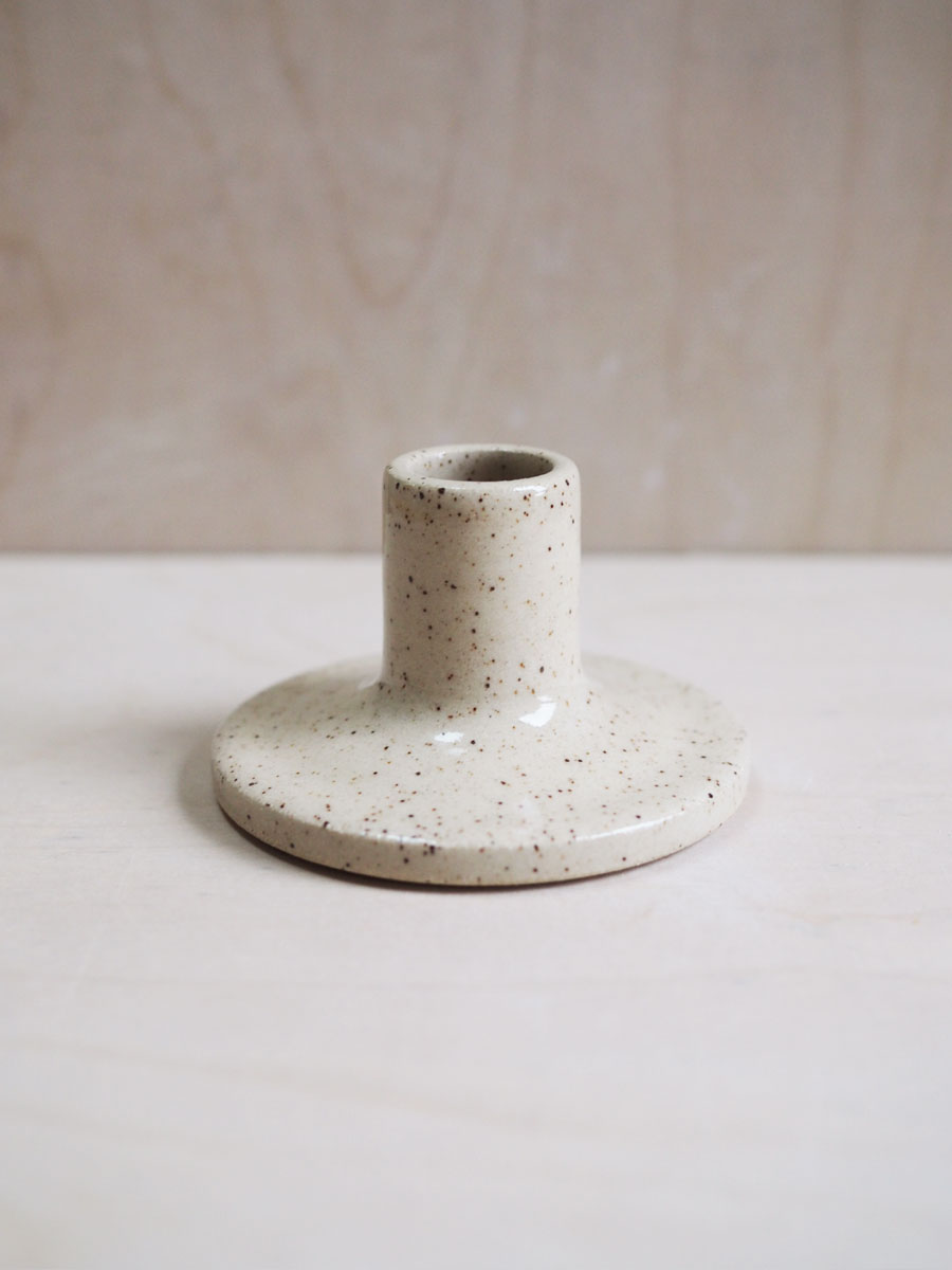 Candle Holder in Cinnamon