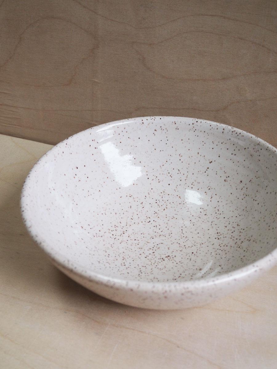 Dinner Bowl in Eggshell