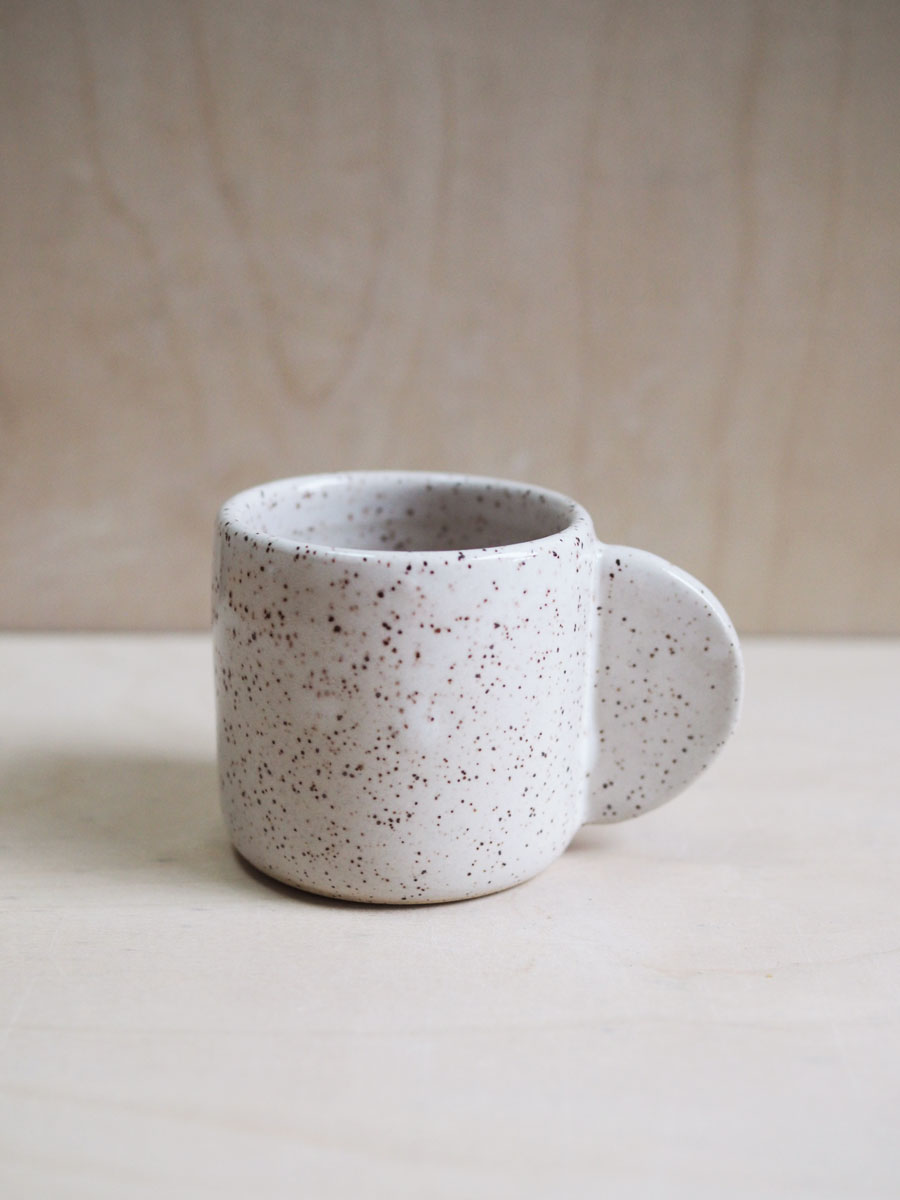 Espresso Cup in Eggshell
