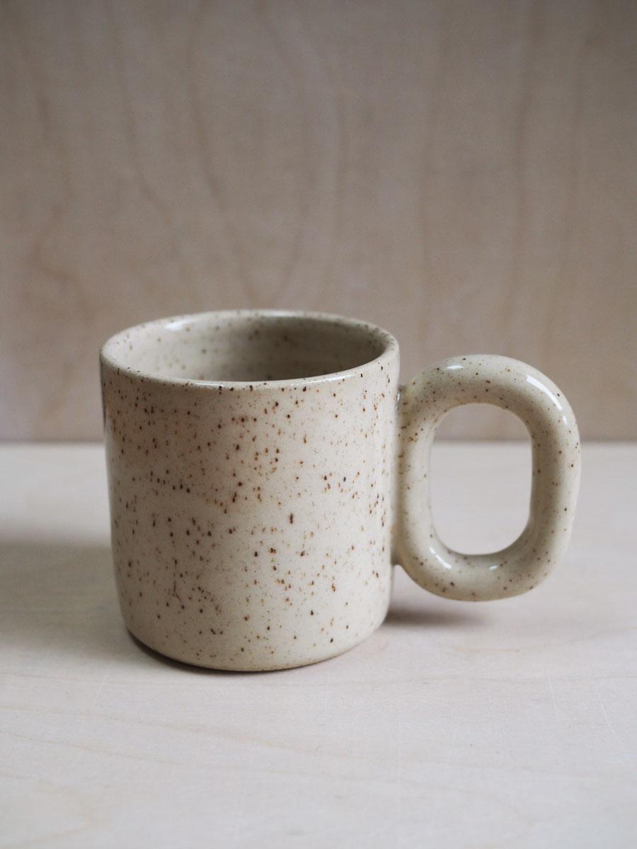 Chain Mug in Cinnamon