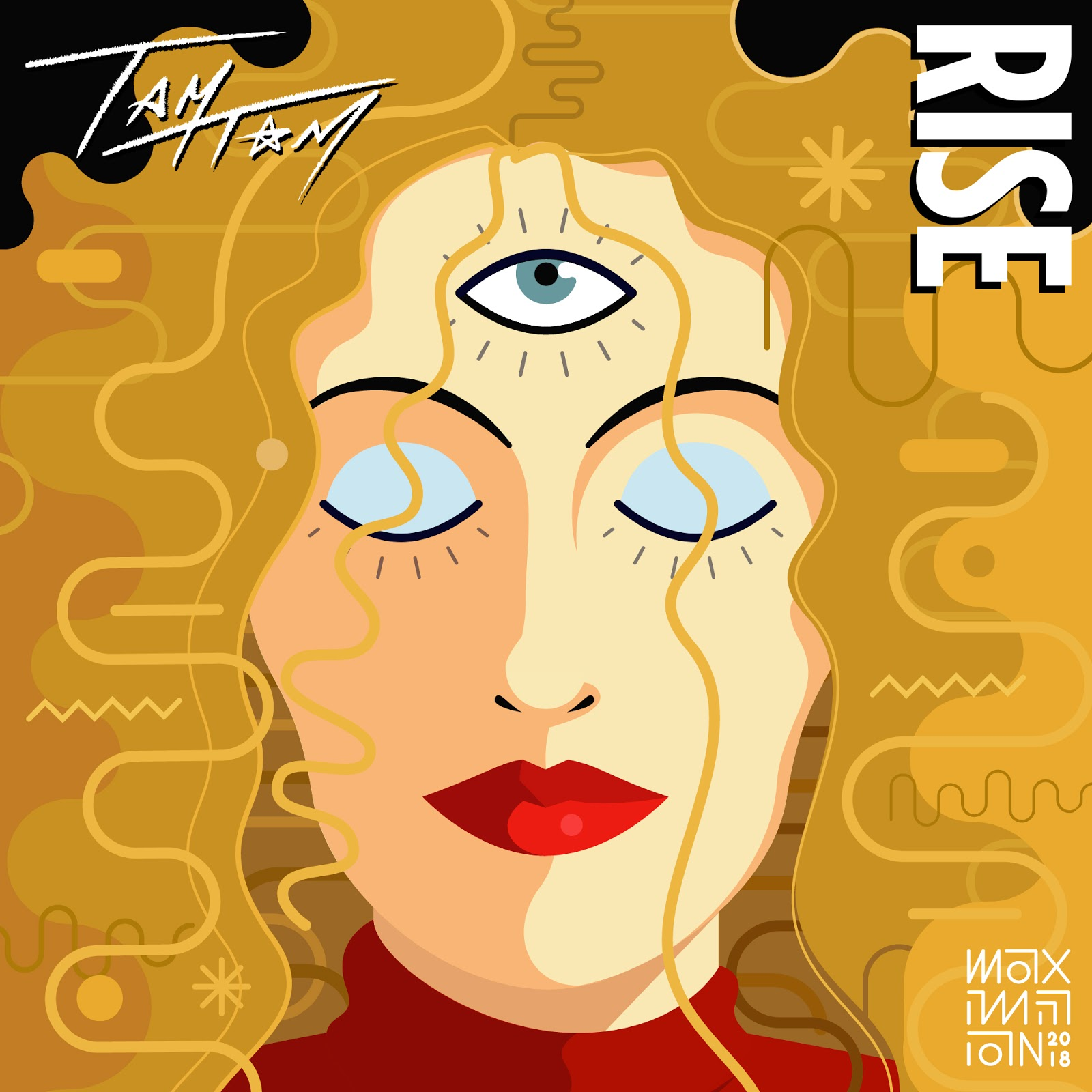 RISE album cover artwork