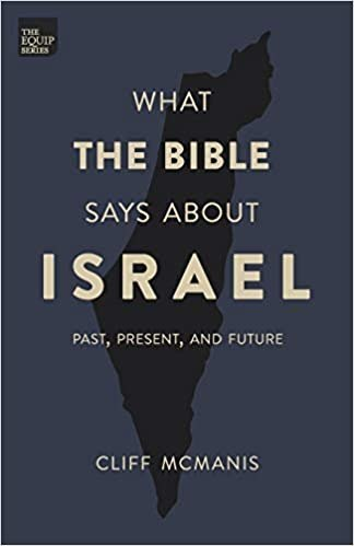 What the Bible says about Israel book cover