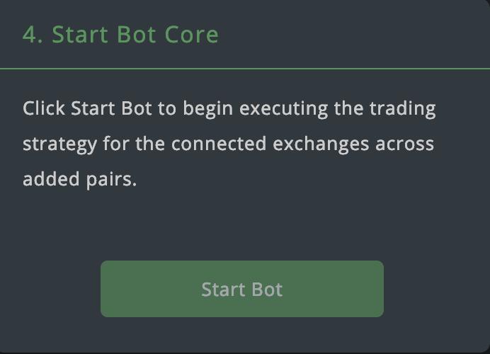 Start bot core