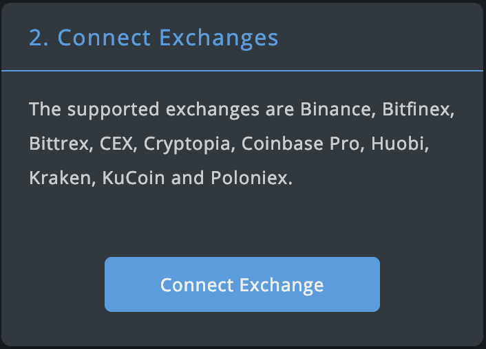 connect exchanges