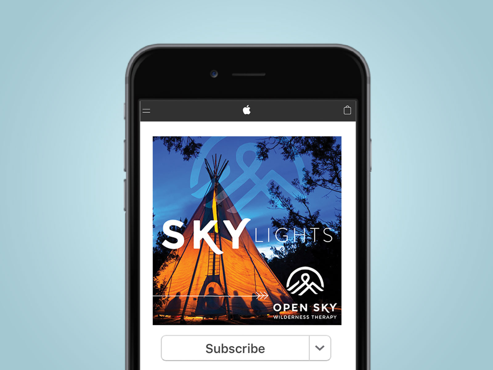 Open Sky Wilderness Podcast Design