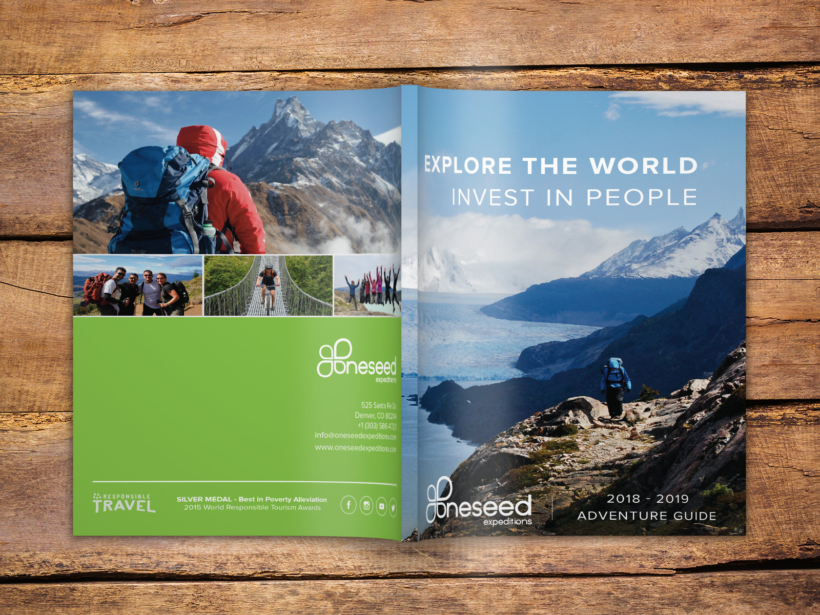 OneSeed Expeditions Print Design