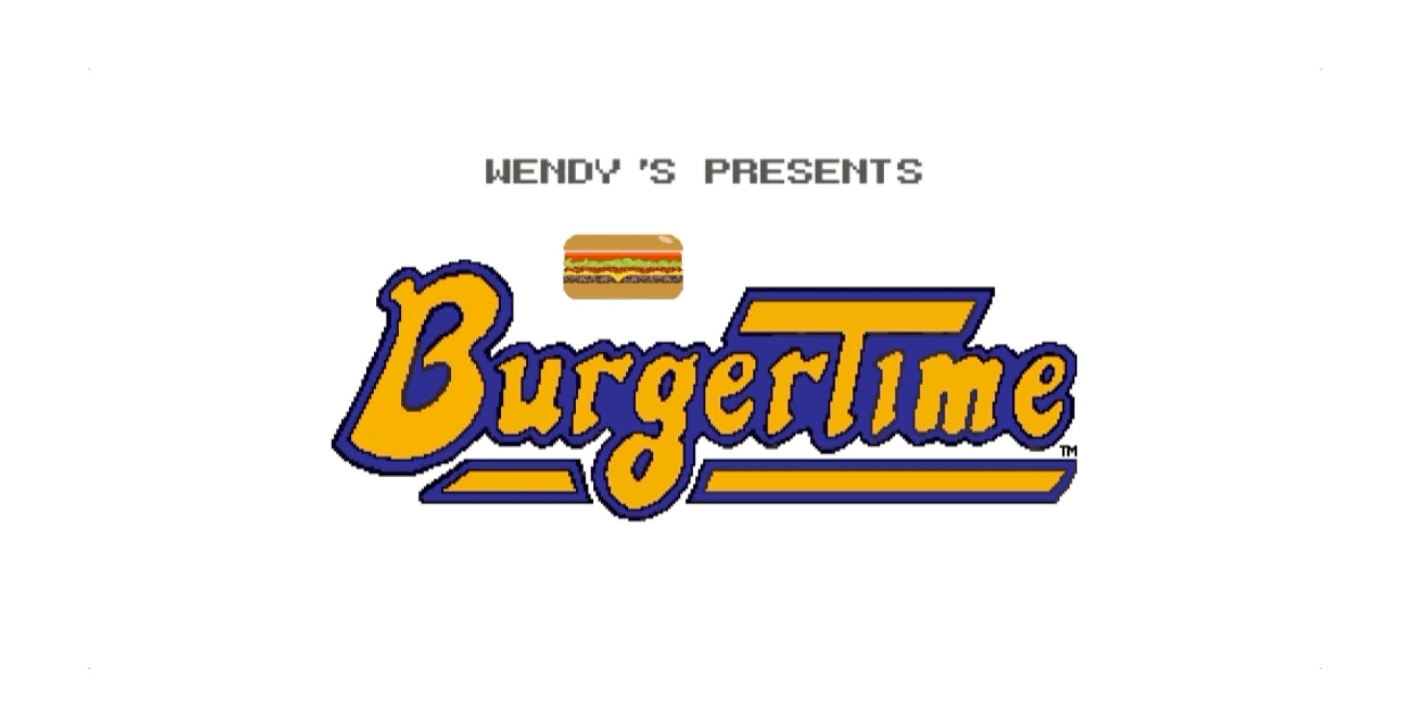 Burgertime logo