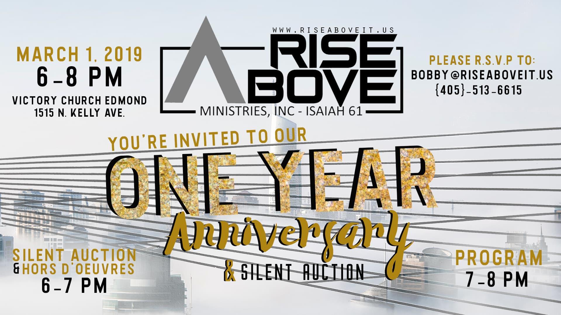 One Year Anniversary Banner