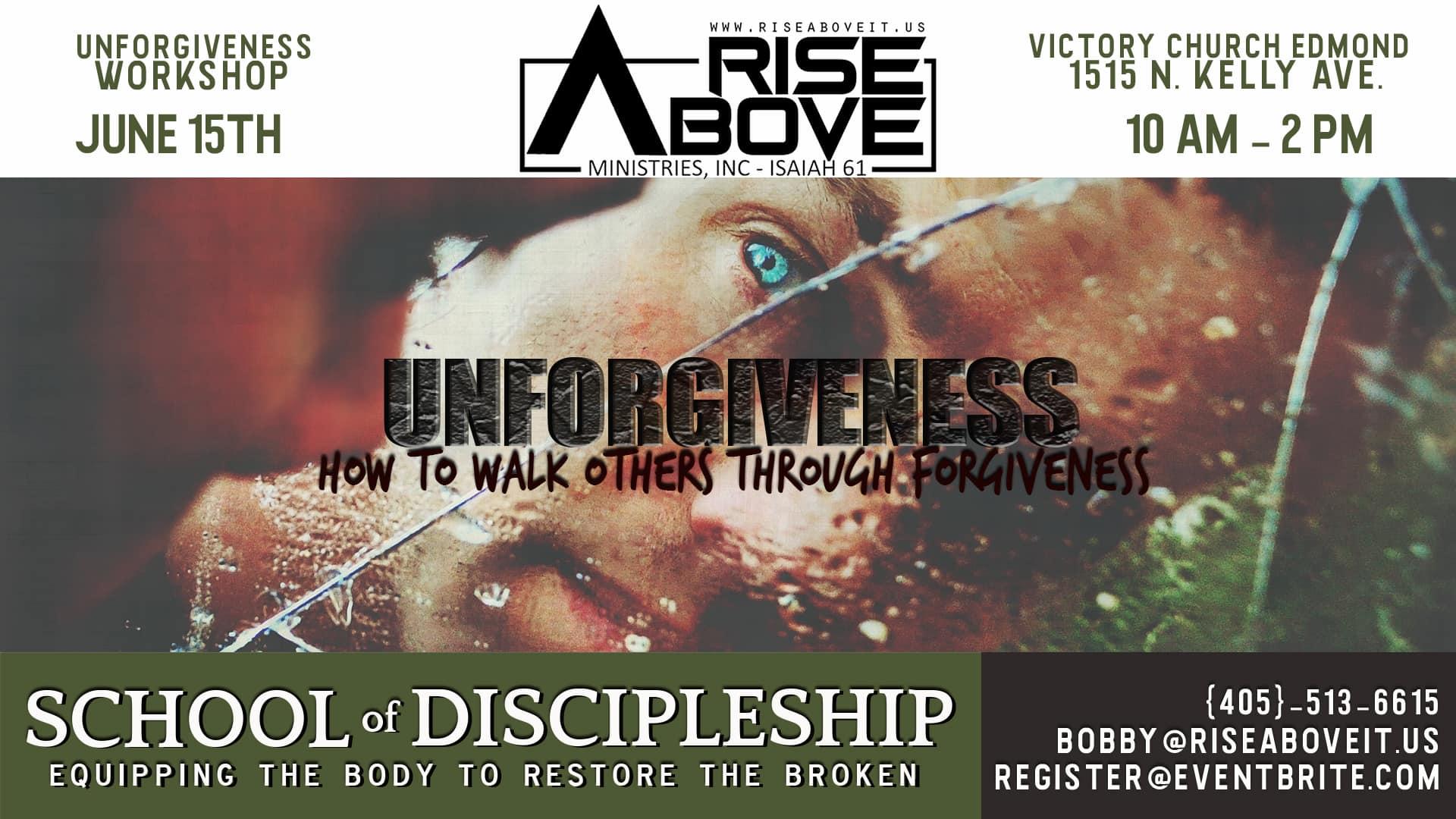 Unforgiveness Workshop