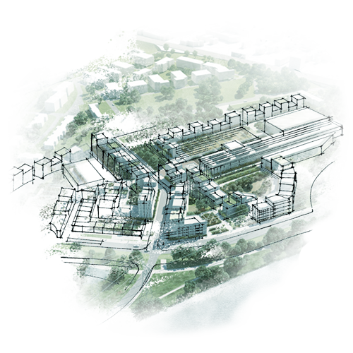 Site Campus Illustration