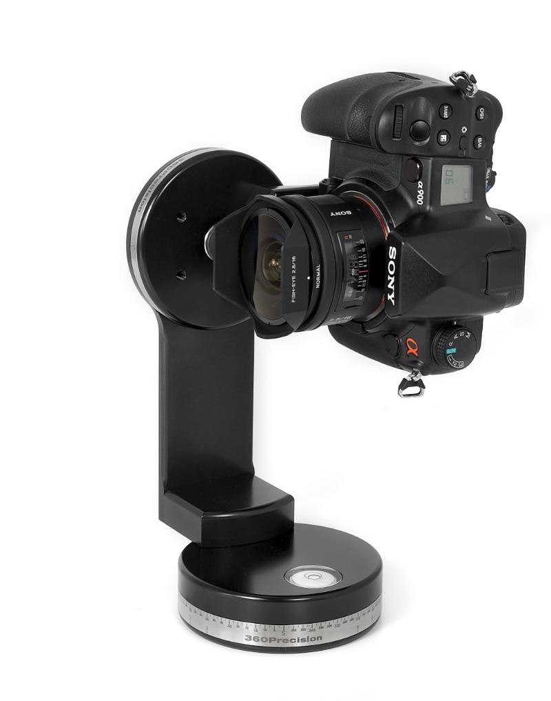 Precision360 Absolute MK2 Spherical and multirow Panoramic Tripod head