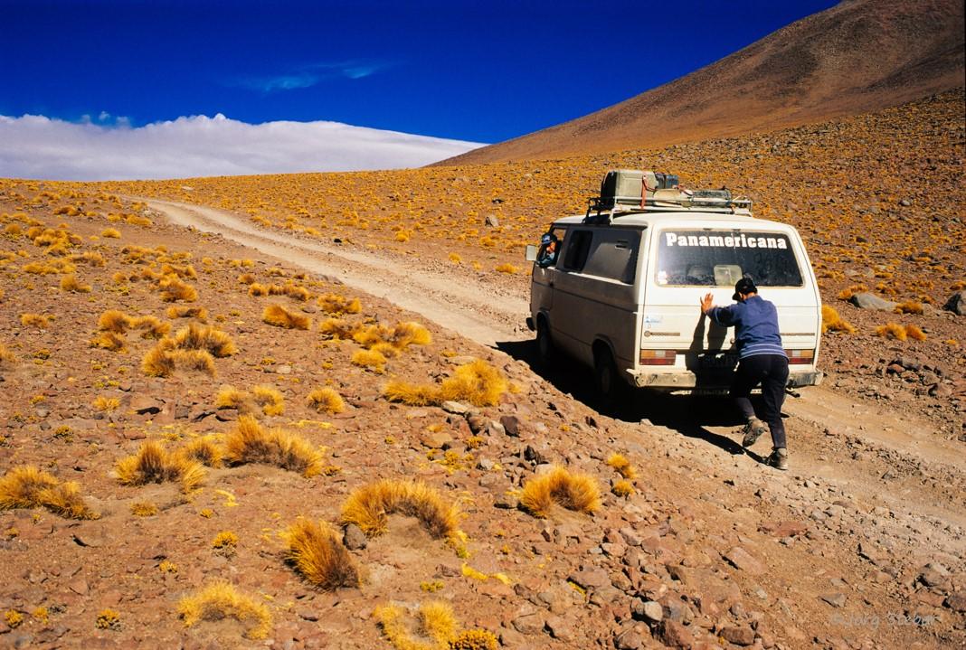 1996: Mit Zusatz- PS über die hohen Pässe der Anden