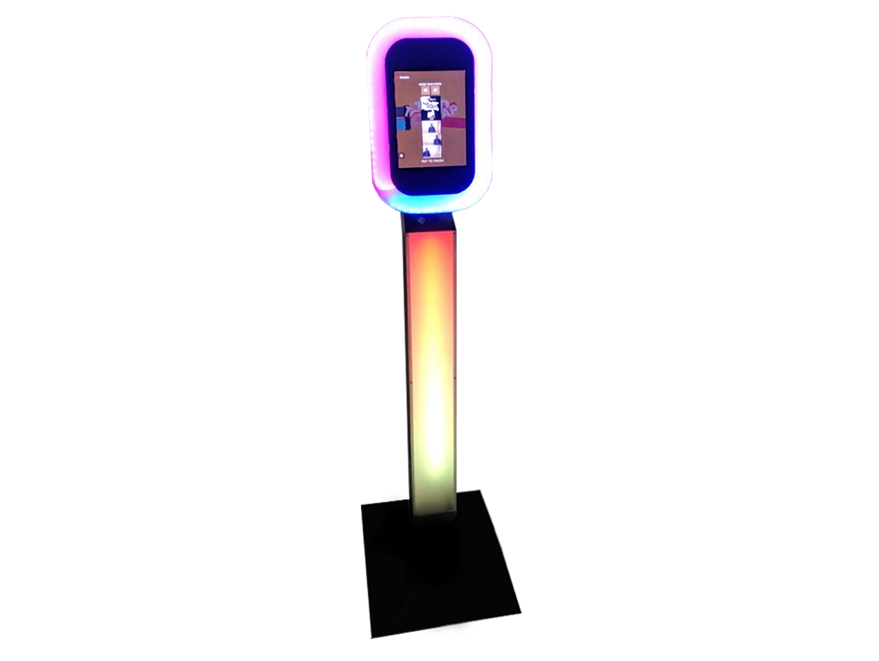 Selfie Pod Hire Kent - GIF's, Boomerangs, Photos, Guests can share their photos instantly via SMS & Email. Easily brand our Selfie Pod for Corporate Events & Product Launches