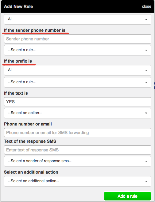 How to use auto-response feature
