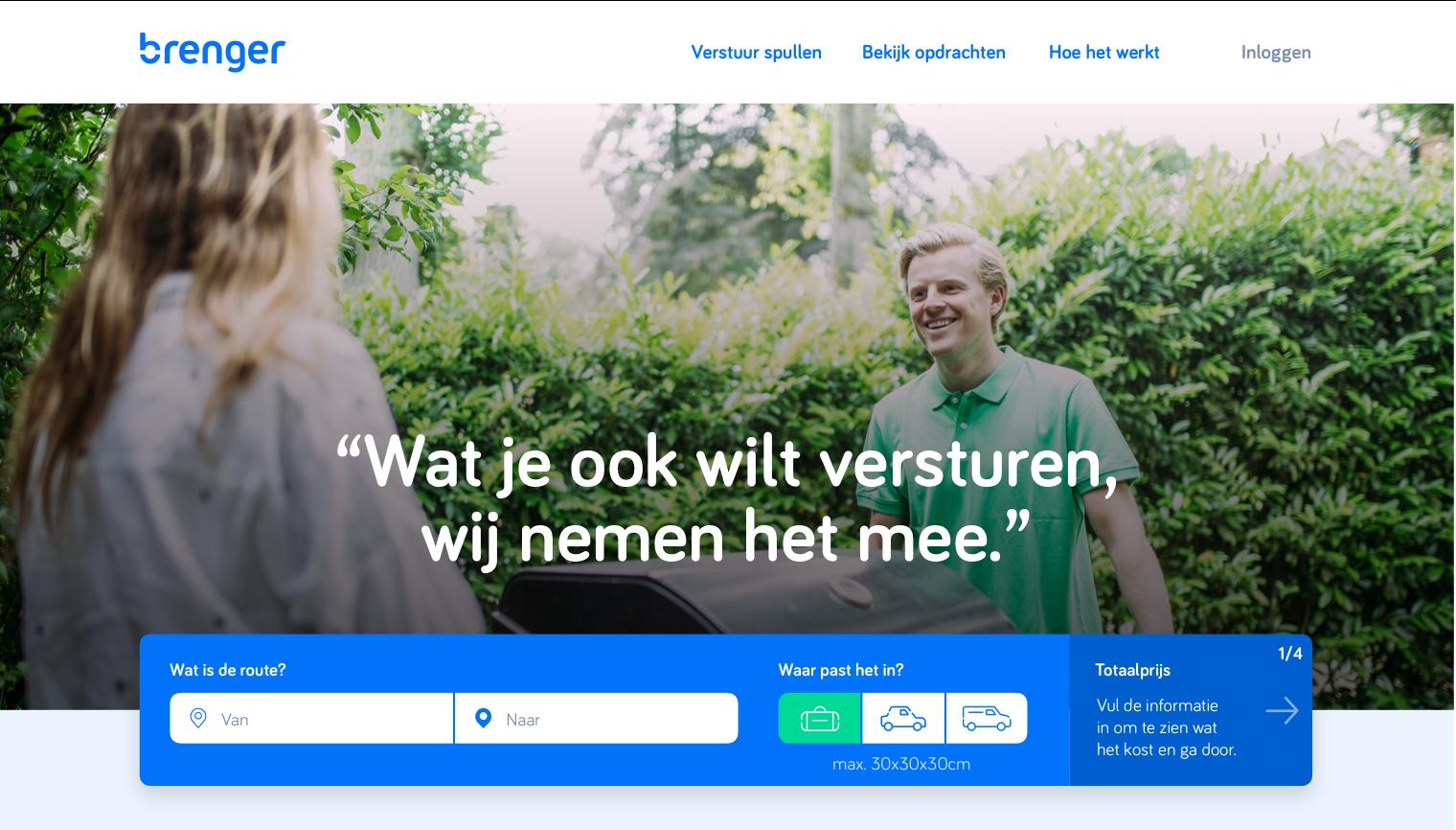 Brenger internet page.