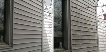 house washing before and after