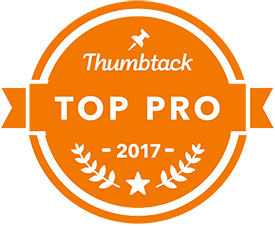we are a proud thumbtack pro winner 2017