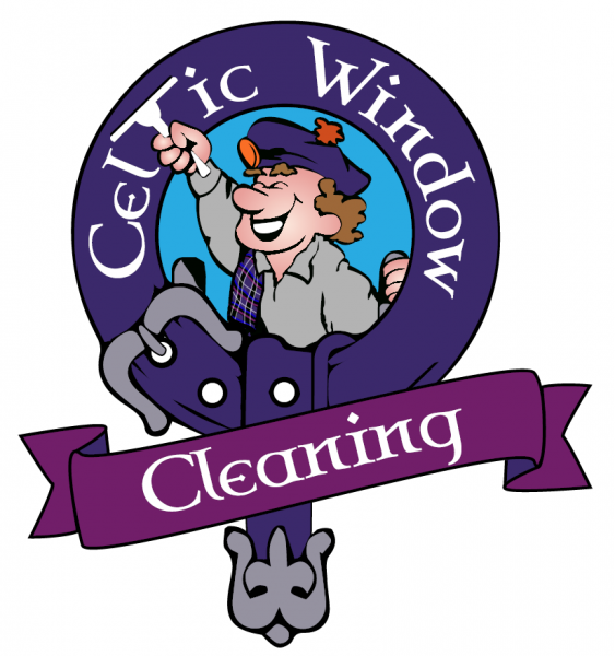 Celtic window cleaning logo
