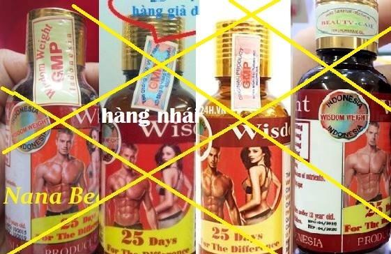 Thuốc tăng cân Wisdom Weight được quảng cáo xách tay từ Indonesia được rao bán hơn 300.000 đồng/lọ