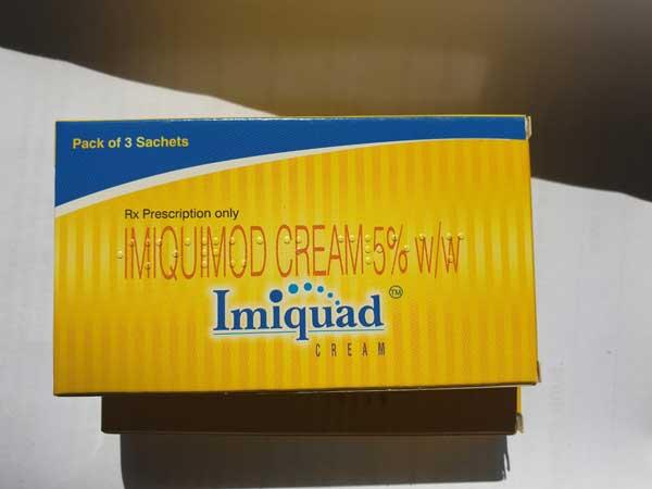 Thuốc chữa sùi mào gà Imiquimod Cream Ấn Độ