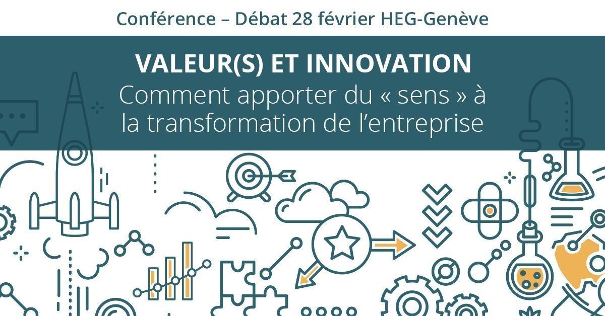 Retour sur la Conférence : Valeur(s) et Innovation