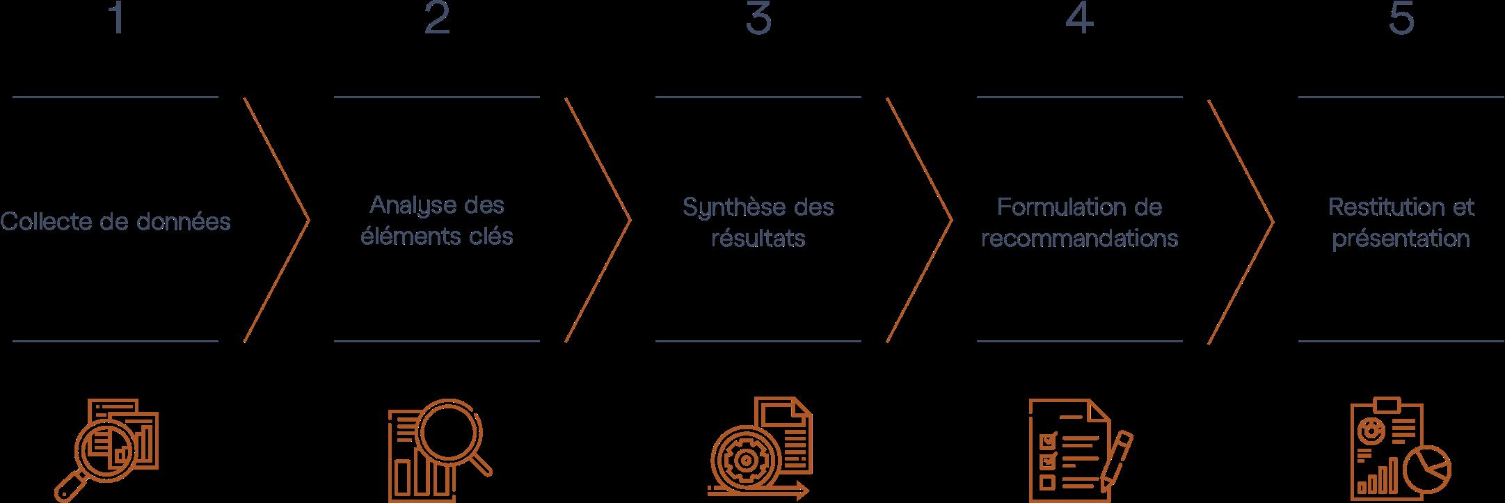 Audit Digital M&BD © - Diagram Steps