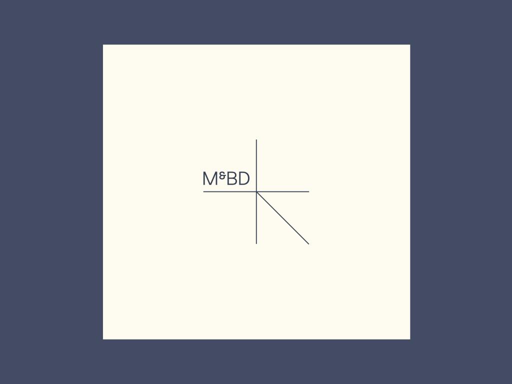 Prototype du nouveau logo M&BD